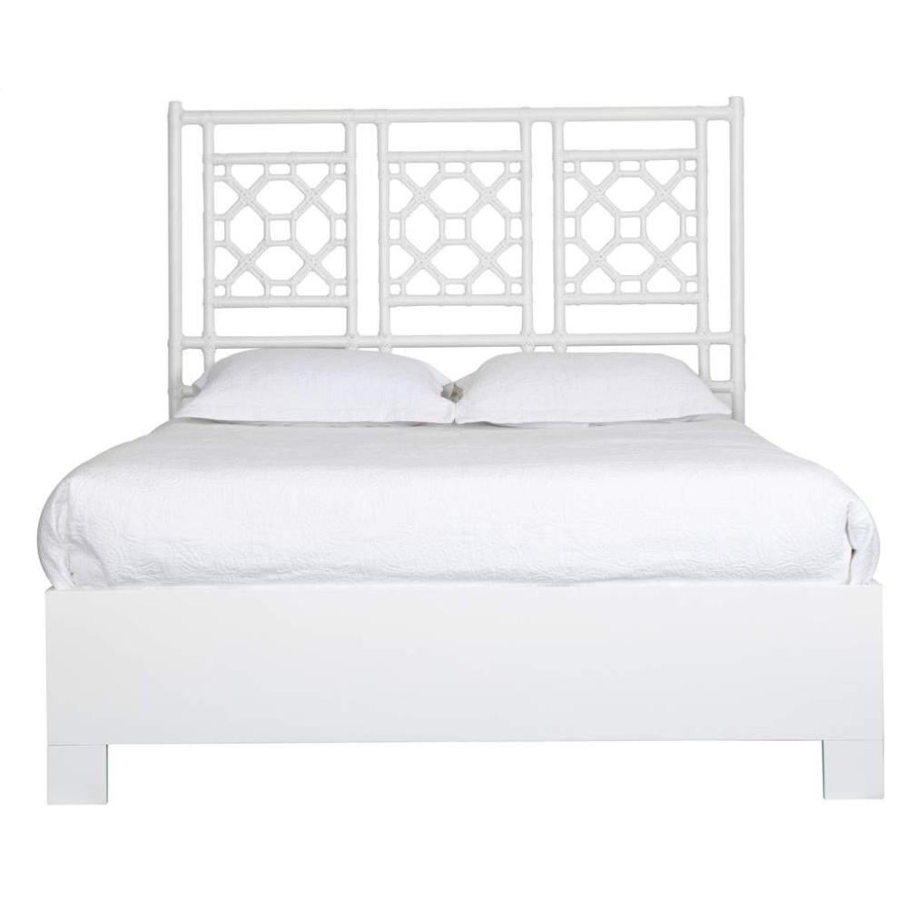 Lattice Back Bed