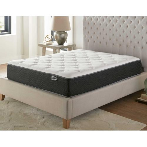 Silver Sleep Bamboo Plush 11.5-inch Mattress, Full