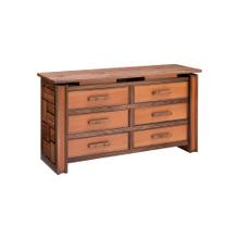Soho 6 Drawer Dresser