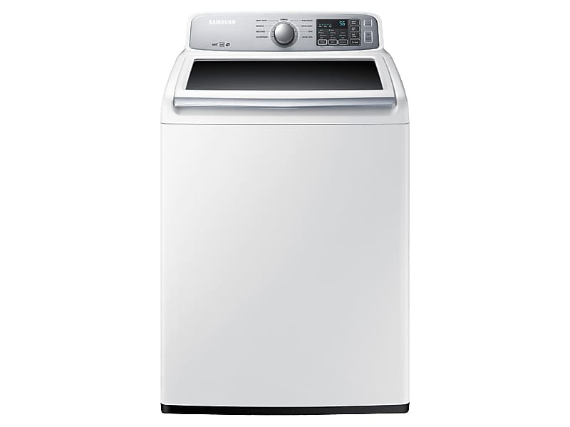 Samsung4.5 Cu. Ft. Top Load Washer With Vibration Reduction Technology In White