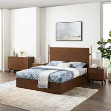 Kali 4-Piece Bedroom Set in Walnut