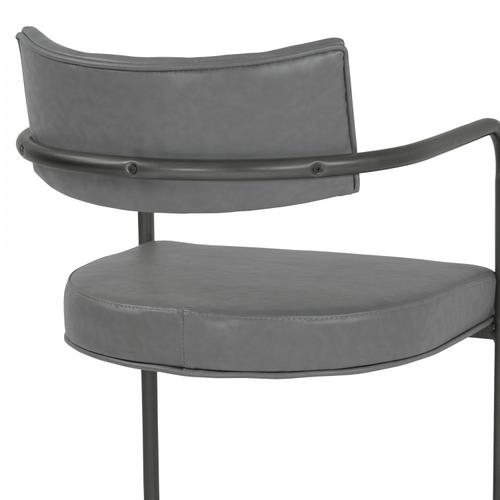 Armen Living - Armen Living Denis Contemporary Metal Dining Chair