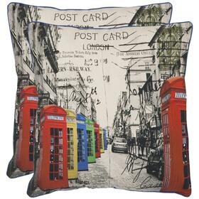 London Pillow - Multi