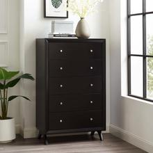 See Details - Providence Five-Drawer Chest or Stand in Cappuccino