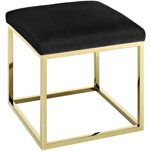 Anticipate Ottoman in Gold Black