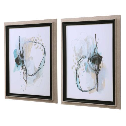 Uttermost - Force Reaction Framed Prints, S/2