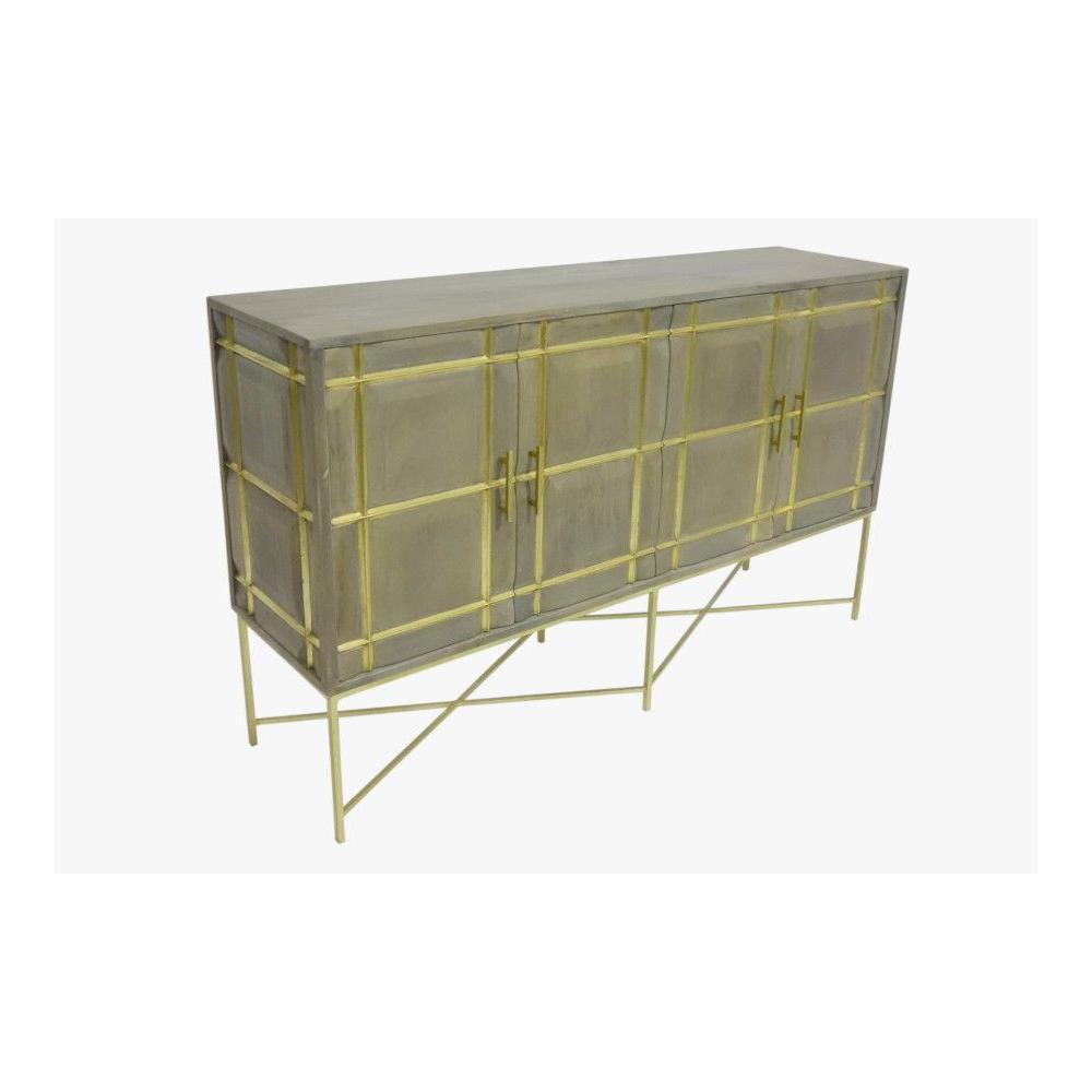 Mondrian 4 Door Cabinet, 2611J