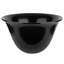 "Counter washbasin in Black Gres without overflow waste 11-3/4"" HIGH X 19-3/4"" DIAMETER Drain sold separately - see 29048 Please contact Gessi North America for freight terms Not certified for use in North America"