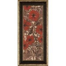 Poppies On Damask II