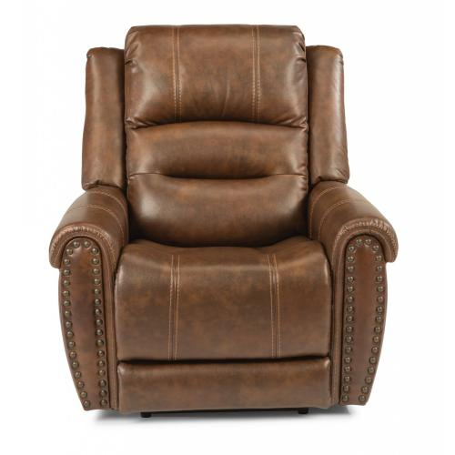 Jeremiah Fabric Power Recliner with Power Headrest