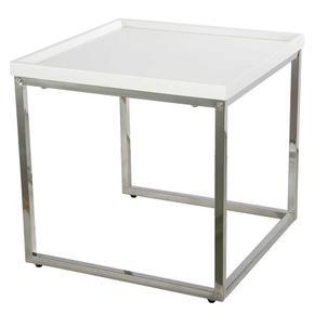 Nesting Table Chrome/Mdf