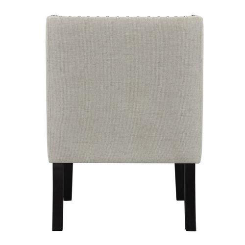 Nora Accent Chair, Linen