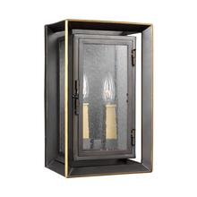 Urbandale Medium Lantern Antique Bronze / Painted Burnished Brass