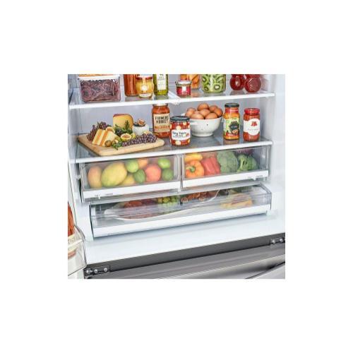 (Open Box) 23 cu. ft. InstaView™ Door-in-Door® Counter-Depth Refrigerator