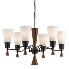 60W X 6 Verona 6 Light Chandelier