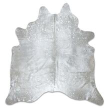 Silver Acid Wash Cowhide