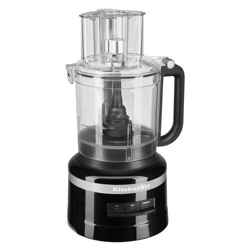 KitchenAid - 13-Cup Food Processor with Dicing Kit - Black Matte