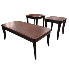 Merlot Coffee & End Table Set