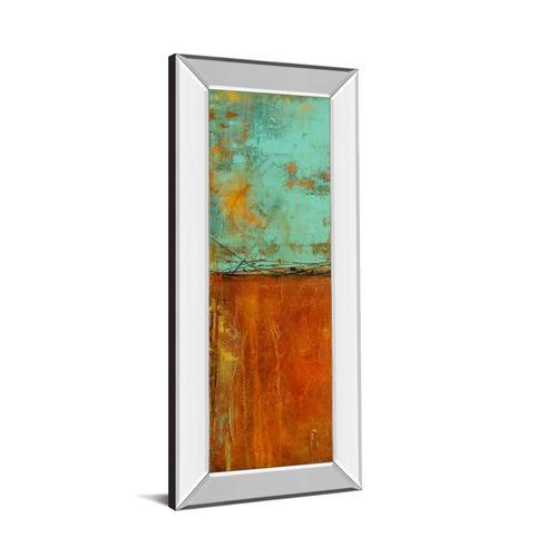 """Ten City I"" By Erin Ashley Mirror Framed Print Wall Art"