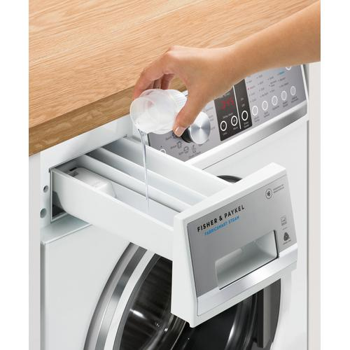 Fisher & Paykel - Front Load Washer, 2.4 cu ft, Time Saver
