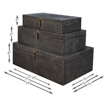 See Details - Cosmos Nesting Boxes, Set Of Three