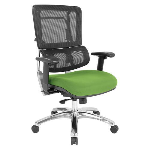 Vertical Black Mesh Back Chair