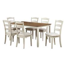 "West Lake 66"" 7-piece Dining Set"