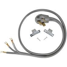 3-Wire Open-End-Connector 40-Amp Range Cord, 4ft
