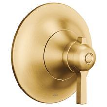 Flara brushed gold exacttemp® valve trim