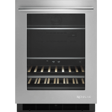 """See Details - 24"""" Under Counter Beverage Center, Euro-Style Stainless Handle"""