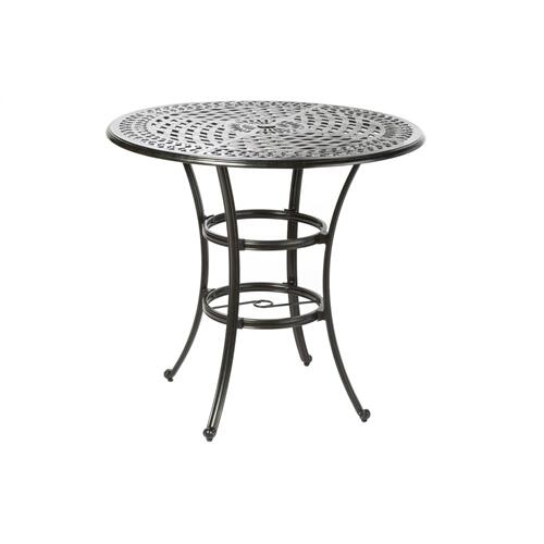 "Porto 44"" Round Bar Table w/ umbrella hole"