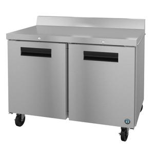 HoshizakiWF48A-01, Freezer, Two Section Worktop, Stainless Doors with Lock