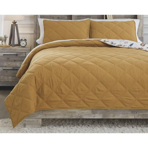 Cooperlen Full Quilt Set