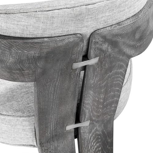 Maryl II Dining Chair - Grey Linen