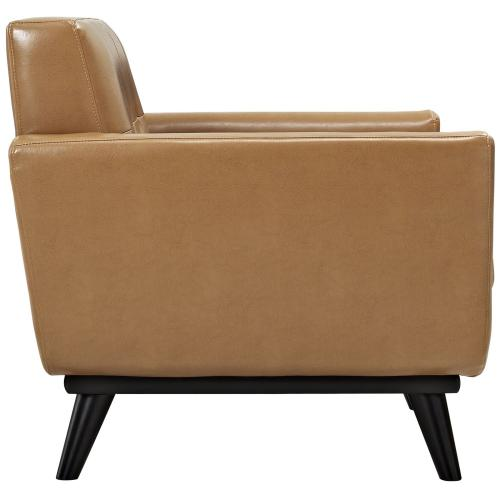 Modway - Engage Leather Sofa Set in Tan