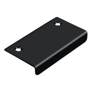 """Deltana - Drawer, Cabinet, Mirror Pull, 3"""" x 1-1/2"""" - Paint Black"""