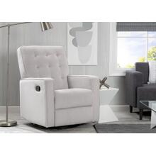 Grant Glider Swivel Recliner Featuring LiveSmart Fabric by Culp - Linen (150)