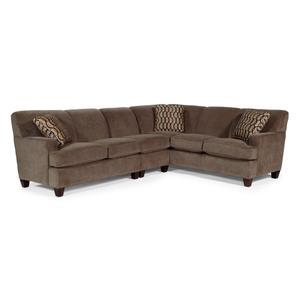 - Coach Fabric Sectional