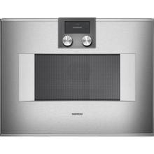 400 Series Combi-microwave Oven 24'' Door Hinge: Right, Door Hinge: Right, Stainless Steel Behind Glass