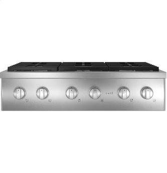 """Café™ 36"""" Commercial-Style Gas Rangetop with 6 Burners (Natural Gas)"""