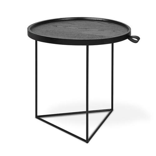 Porter End Table Black Ash / Black