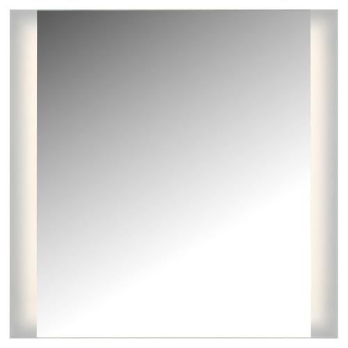 "LED 2 Sided Ada Mirror, 3K, 36""W X 36"", Not Dimmable, With Easy Cleat System"