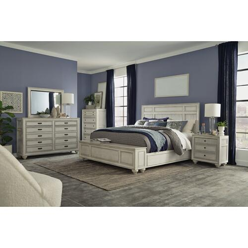 Harmony Queen Storage Bed