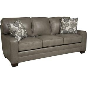 King Hickory - Bentley Leather Sofa