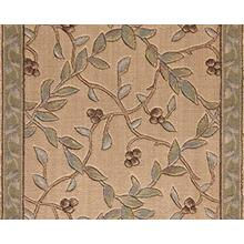 "Ashton House Regal Vine A02r Beech 36"" Runner"
