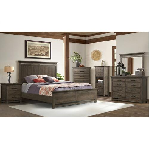 1052 Artisan Queen Panel Bed
