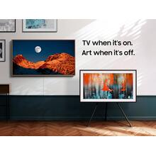 """See Details - 32"""" Class The Frame QLED 4K UHD HDR Smart TV"""