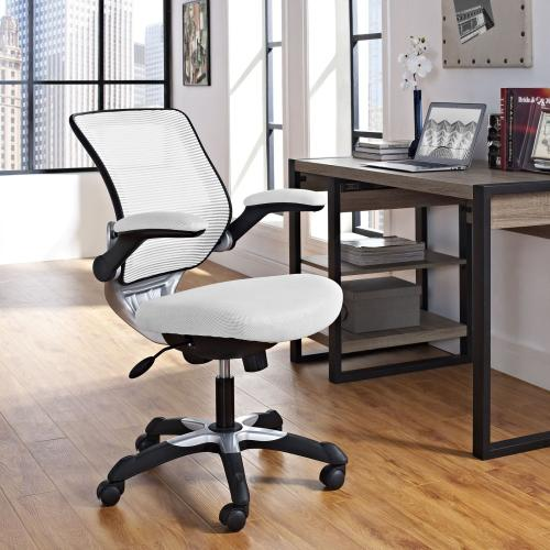 Gallery - Edge Mesh Office Chair in White