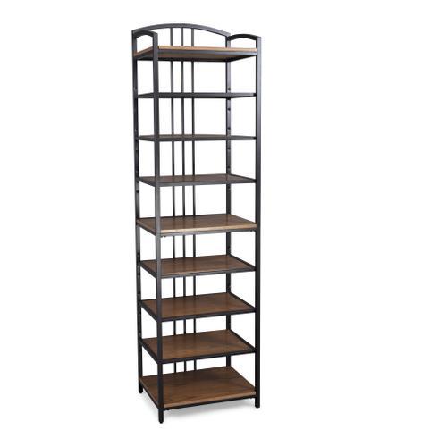 Modern Craftsman Closet Wall Shelf Unit