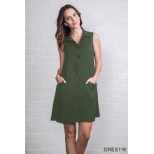 See Details - Trapeze Snap Dress (6 pc. ppk.)